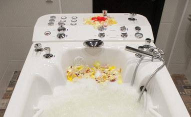 Дар Калифа - Гидромассажная ванная с подводным массажным душем  - фото 5