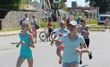 Олимпийский день бега в Черкассах (День города 2015) - фото 4