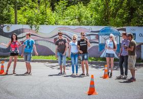 Фото 1 - Национальные соревнования по автослалому – Черкассы (День города 2015)