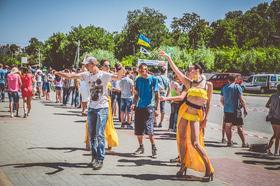 Фото 6 - Национальные соревнования по автослалому – Черкассы (День города 2015)