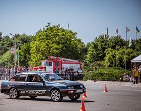 Фото 26 - Национальные соревнования по автослалому – Черкассы (День города 2015)