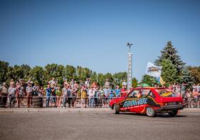 Фото 28 - Национальные соревнования по автослалому – Черкассы (День города 2015)