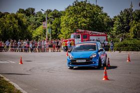 Фото 33 - Национальные соревнования по автослалому – Черкассы (День города 2015)