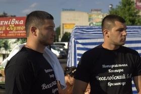 Фото 4 - Боксерский ринг в центре Черкасс (открытая тренировка 'K2 Promotions Ukraine')