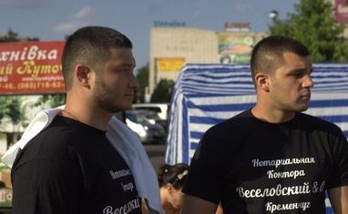 """Боксерский ринг в центре Черкасс (открытая тренировка """"K2 Promotions Ukraine"""") - фото 4"""