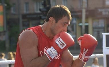 """Боксерский ринг в центре Черкасс (открытая тренировка """"K2 Promotions Ukraine"""") - фото 5"""