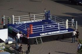 Фото 16 - Боксерский ринг в центре Черкасс (открытая тренировка 'K2 Promotions Ukraine')