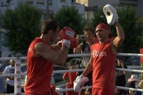 Фото 18 - Боксерский ринг в центре Черкасс (открытая тренировка 'K2 Promotions Ukraine')