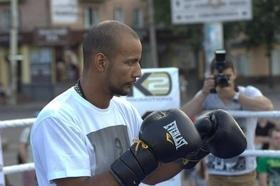 Фото 19 - Боксерский ринг в центре Черкасс (открытая тренировка 'K2 Promotions Ukraine')