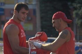 Фото 20 - Боксерский ринг в центре Черкасс (открытая тренировка 'K2 Promotions Ukraine')