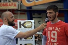 Фото 21 - Боксерский ринг в центре Черкасс (открытая тренировка 'K2 Promotions Ukraine')