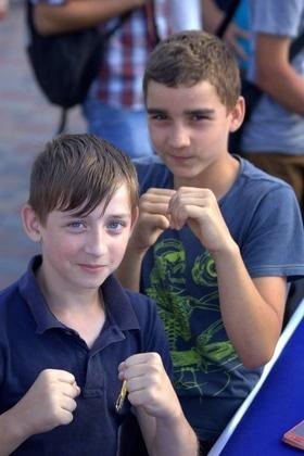 Фото 24 - Боксерский ринг в центре Черкасс (открытая тренировка 'K2 Promotions Ukraine')