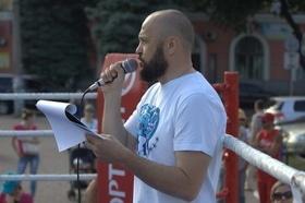 Фото 27 - Боксерский ринг в центре Черкасс (открытая тренировка 'K2 Promotions Ukraine')