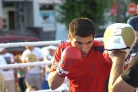 Фото 28 - Боксерский ринг в центре Черкасс (открытая тренировка 'K2 Promotions Ukraine')