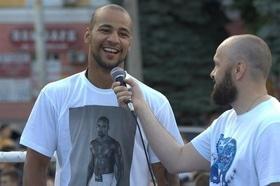 Фото 30 - Боксерский ринг в центре Черкасс (открытая тренировка 'K2 Promotions Ukraine')