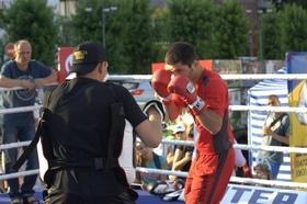 Фото 31 - Боксерский ринг в центре Черкасс (открытая тренировка 'K2 Promotions Ukraine')