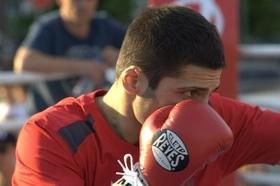 Фото 32 - Боксерский ринг в центре Черкасс (открытая тренировка 'K2 Promotions Ukraine')