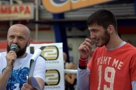 Фото 35 - Боксерский ринг в центре Черкасс (открытая тренировка 'K2 Promotions Ukraine')