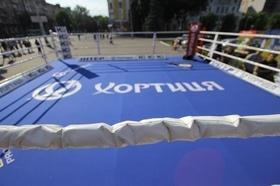 Фото 39 - Боксерский ринг в центре Черкасс (открытая тренировка 'K2 Promotions Ukraine')