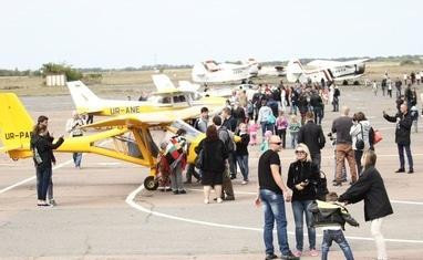 Второй черкасский фестиваль малой авиации 2015 - фото 3