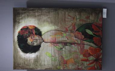 """Открытие выставки Татьяны Черевань """"Далеко от дома"""" - фото 2"""