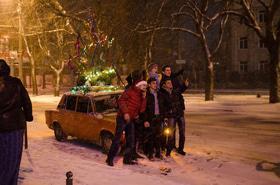 Фото 11 - Черкассы. Новый год 2016