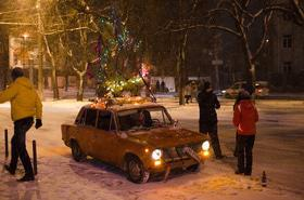 Фото 10 - Черкассы. Новый год 2016