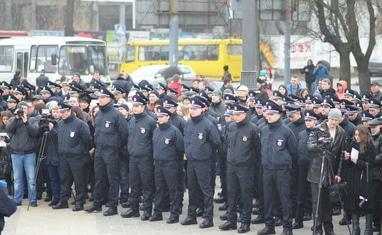 Присяга новой черкасской патрульной полиции - фото 1