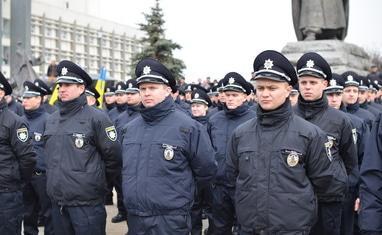Присяга новой черкасской патрульной полиции - фото 2