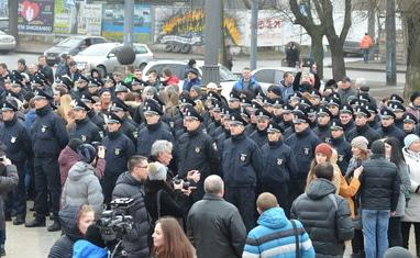 Присяга новой черкасской патрульной полиции - фото 4