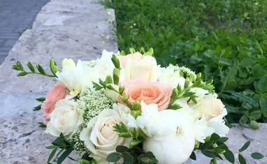 Букет - Свадебные букеты - фото 1
