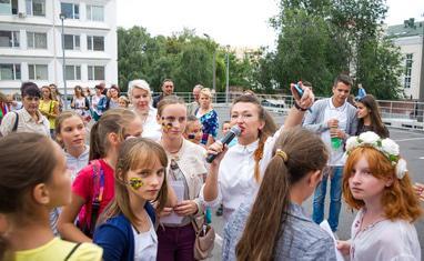 День Независимости. Черкассы 2016. Запуск патриотических шариков - фото 3