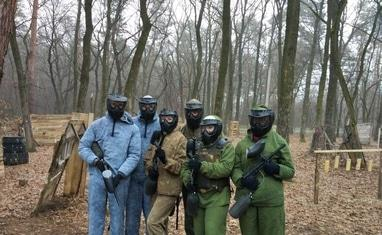 Paintball - Игра. Зима - фото 1