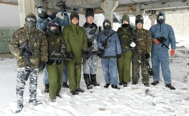Paintball - Игра. Зима - фото 2