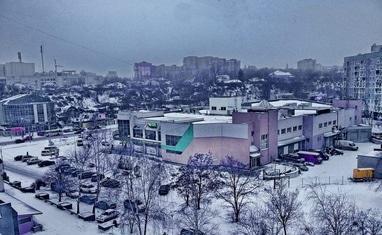 Снежная зима в Черкассах - фото 4