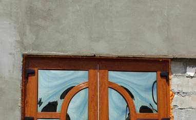ТОВ Арка-плюс - Нестандартная дверь с выпуклыми стеклопакетами - фото 4