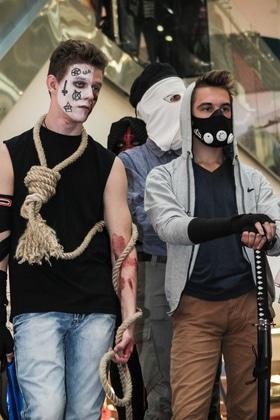 Фото 12 - Косплей-вечеринка в ТРЦ 'Lubava' (фото – Oleg Voynilovich)