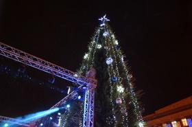 Фото 40 - Открытие главной елки Черкасс 2017