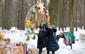 Фото 36 - Празднование Масленицы в парке 'Сосновый бор'