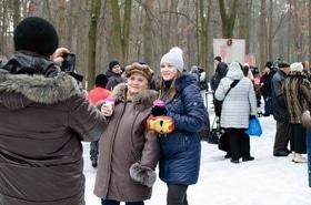 Фото 21 - Празднование Масленицы в парке 'Сосновый бор'