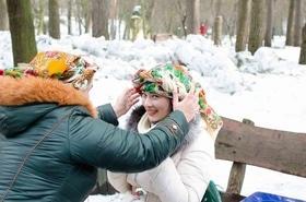 Фото 18 - Празднование Масленицы в парке 'Сосновый бор'