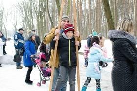 Фото 9 - Празднование Масленицы в парке 'Сосновый бор'