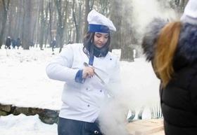 Фото 7 - Празднование Масленицы в парке 'Сосновый бор'