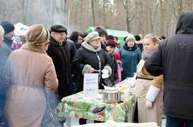 Фото 6 - Празднование Масленицы в парке 'Сосновый бор'
