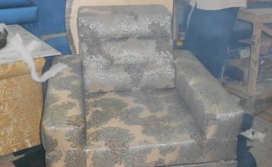 Перетяжка мягкой мебели - Наши работы - фото 1