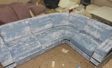 Перетяжка мягкой мебели - Наши работы - фото 2