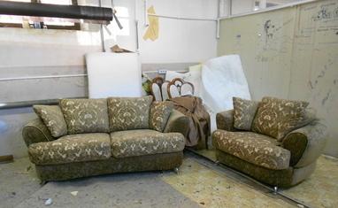 Перетяжка мягкой мебели - Наши работы - фото 3
