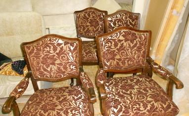 Перетяжка мягкой мебели - Наши работы - фото 4