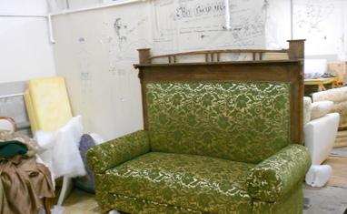 Перетяжка мягкой мебели - Наши работы - фото 5