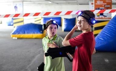 "Paintball - Открытый турнир ТРЦ ""Любава"" по Лазертагу – июнь 2018 - фото 5"